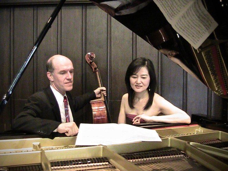 The Belrose Duo, David Garrett and Junko Ueno Garrett